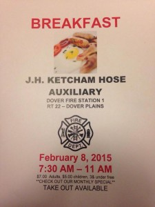 J.H. Ketcham Hose Auxiliary Breakfast