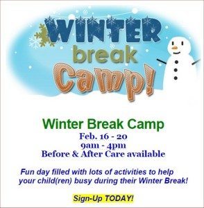 Patterson Winter Break Camp