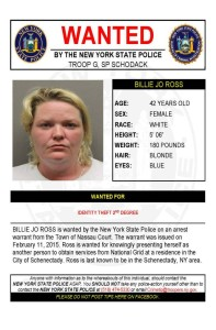 New York State Police Warrant Wednesday – 2.25.15
