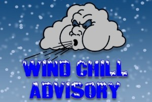…WIND CHILL ADVISORY IN EFFECT UNTIL 10 AM EST FRIDAY…