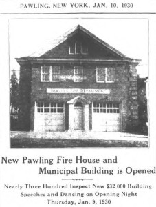 Local History: Pawling Fire Department
