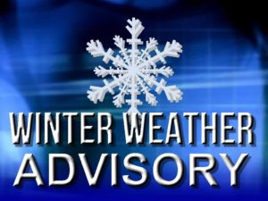 …WINTER WEATHER ADVISORY IN EFFECT UNTIL 7 AM EST SUNDAY…