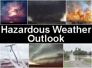 Hazardous Weather Outlook – Storm – Rain – Snow?
