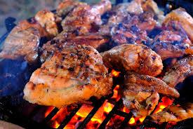 Chicken BBQ at Wassaic Firehouse, Wassaic, N.Y.