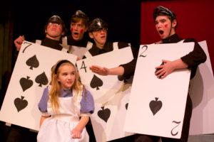 """Alice's Adventures in Wonderland"" at The Sherman Playhouse through December 27."