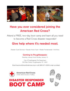 Red Cross Boot Camp