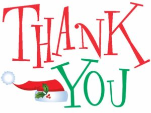 The Holmes Whaley Lake Civic Association offers a big THANK YOU!