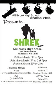 Millbrook High School Drama Club Presents Shrek