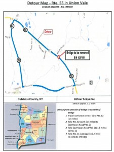 DETOUR INFORMATION FOR ROUTE 55 CLOSURE From March 22, 2016 – July 25, 2016