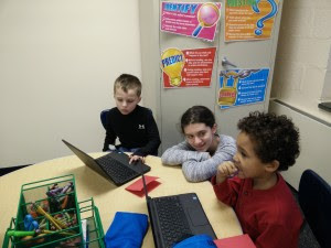 PES and the Pawling Library Team up to Teach the Code