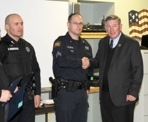 Putnam Sheriff's Sergeant and Deputy Commended for Preventing Man's Suicide