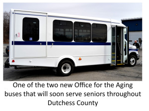 Office for the Aging Rolls Out Two New Buses to Serve Dutchess County Seniors
