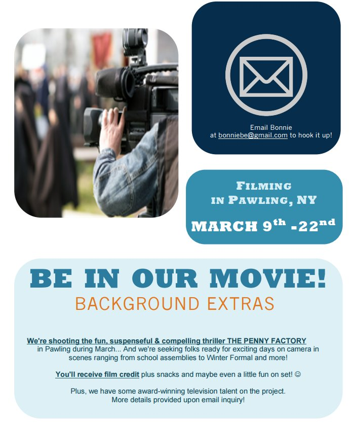 BACKGROUND ACTORS WANTED FOR NETFLIX FEATURE FILM IN