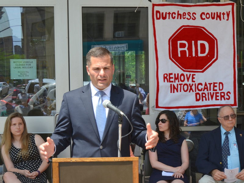 Dutchess County Executive Marcus J Molinaro