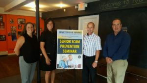 SERINO AND DEPT. OF CONSUMER PROTECTION TEAM UP TO HELP LOCAL SENIORS