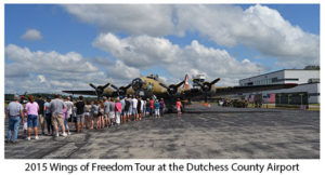 Wings of Freedom Tour Returns to Dutchess County Airport – Rare WWII Aircraft on Display September 9-11