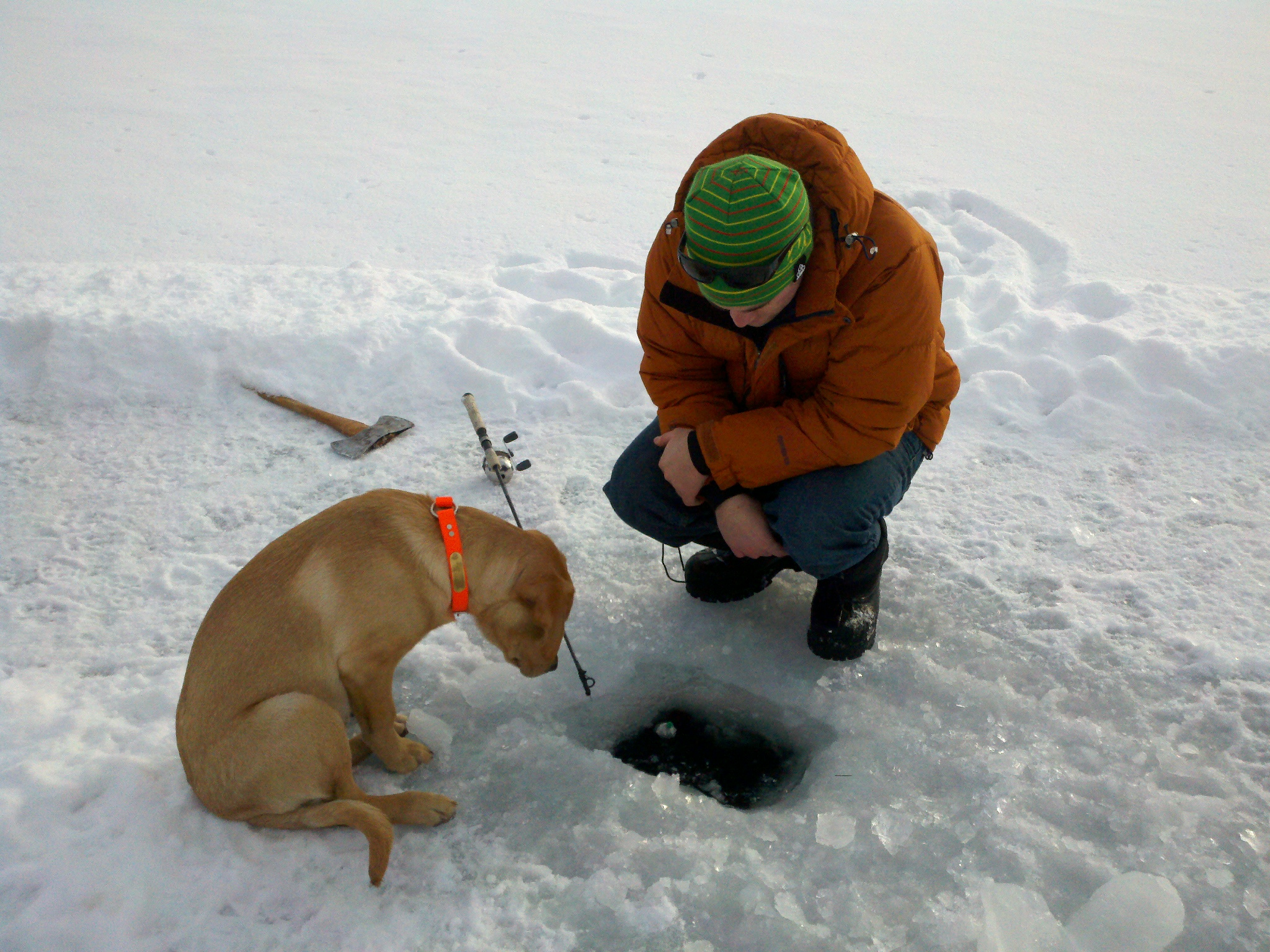 Dec encourages anglers to put safety first when ice for Ice fishing 2017