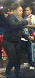 State Police from Cortlandt are seeking the public's assistance to help identify female subject wanted for questioning