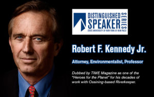 Distinguished Speaker Series to welcome environmentalist  Robert F. Kennedy Jr. to New Paltz on March 13