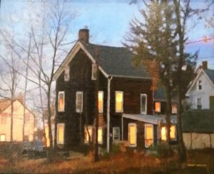 "The Sharon Historical Society & Museum Announces the Opening of  ""No Place Like Home""  Juried Exhibition and Sale"
