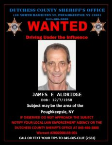 Wanted by The Dutchess County Sheriff's Office