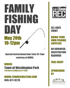 Family Fishing Day This Weekend