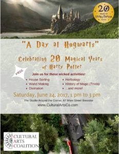 """A Day at Hogwarts: Celebrating 20 Magical Years of Harry Potter!"""