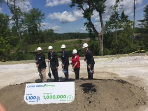 Cricket Valley Energy Groundbreaking Brings Jobs, Economic Development to Dutchess County  –   Local Leaders Break Ground on the $1.58 Billion Energy Center