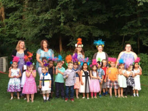 The Dover Golden Goose School Graduated 11 children