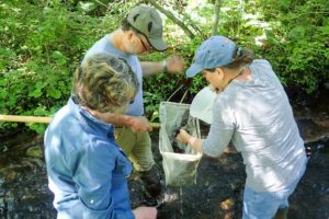 FrOGS continued its mid-summer water quality assessment of Great Swamp tributaries