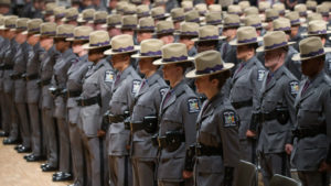 "Troop ""K"" is pleased to announce that the New York State Police recruitment campaign is currently underway"