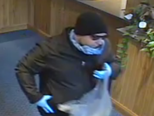**UPDATED TO INCLUDE SURVEILLANCE FOOTAGE** State Police investigate bank robbery in the Town of Stanford