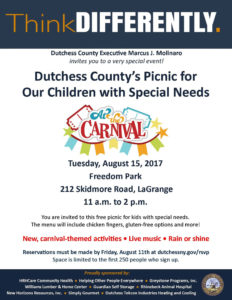 Dutchess County's Special Needs Picnic Aug. 15th