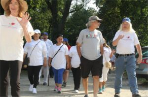 PRC Walkathon Receives Community Support