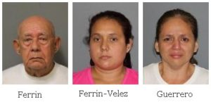 Man and two women arrested in Cortlandt for Grand Larceny and Endangering a Child after shoplifting