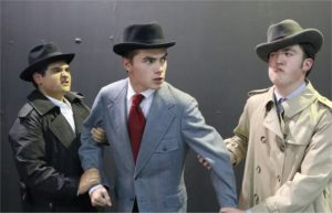 "Hitchcock Meets Hilarious in Carmel High School's Production of ""The 39 Steps"""