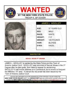 Wanted by The NYSP