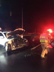 California Man Arrested For Felony DWI Following Two Car Crash