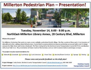 Millerton Pedestrian Plan Presentation