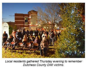 Dutchess County RID Hosts 'Safety Tree' Dedication  and Inaugural Victims Candlelight Vigil