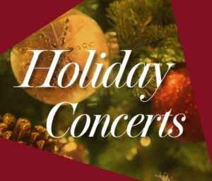 Four December Concerts to be Staged at DCC