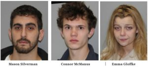 Three Arrested in New Paltz on Drug Possession Charges