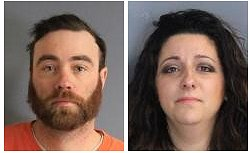Patchogue couple arrested for possession of cocaine in Pleasant Valley