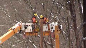 Metro-North Crews Continue Repairs to Upper Harlem Line Power Poles Damaged During Nor'Easters   Substitute Bus Service in Effect Between Southeast, Brewster and Goldens Bridge Stations on Sunday, March 18 to Accommodate Infrastructure Work
