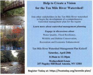 Help to Create a Vision for the Ten Mile River Watershed