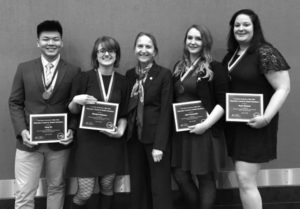 Four DCC Students Earn SUNY Chancellor's Awards