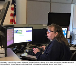 National Public Safety Telecommunicators Week April 8-14