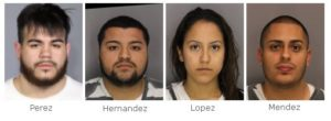 Four from Queens arrested for felony drug possession in Gallatin