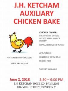 J.H. Ketcham Auxiliary Chicken Bake