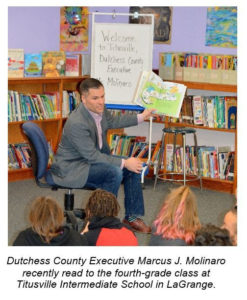County Launches 'Dutchess Reads' Initiative